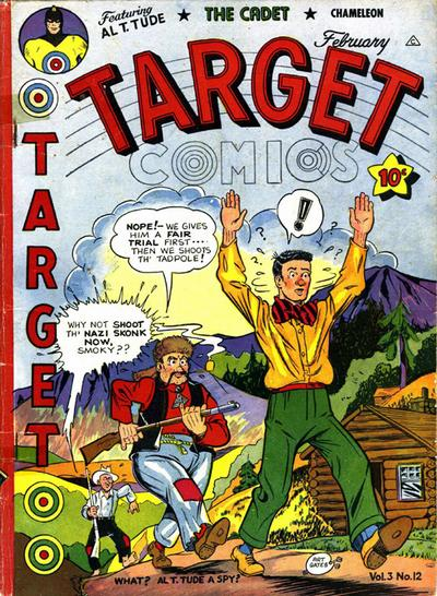Cover for Target Comics (Novelty Press, 1940 series) #v3#12 [36]