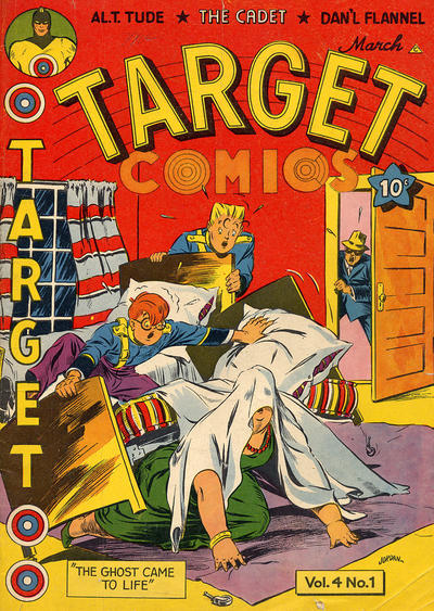 Cover for Target Comics (Novelty Press, 1940 series) #v4#1 [37]