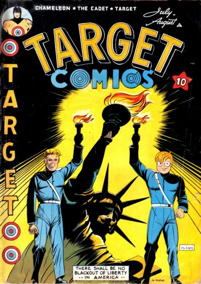 Cover for Target Comics (Novelty Press, 1940 series) #v4#5 [41]