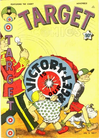 Cover for Target Comics (Novelty Press, 1940 series) #v4#7 [43]