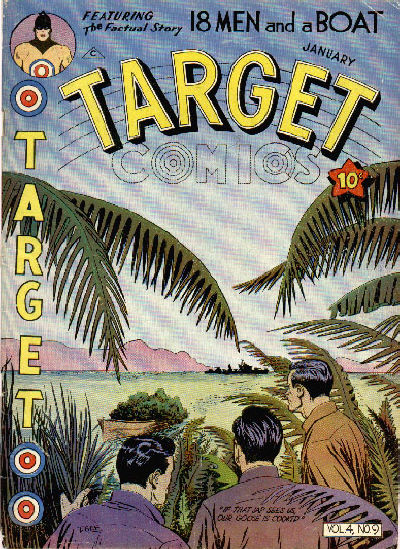 Cover for Target Comics (Novelty / Premium / Curtis, 1940 series) #v4#9 [45]