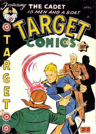 Cover for Target Comics (Novelty Press, 1940 series) #v4#12 [48]