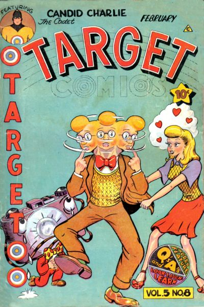 Cover for Target Comics (Novelty Press, 1940 series) #v5#8 [56]