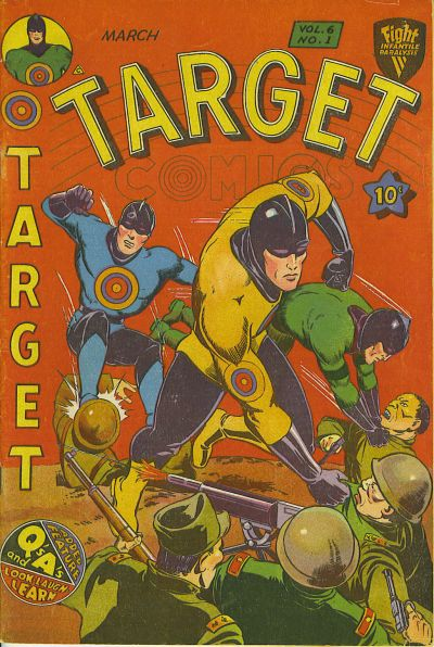 Cover for Target Comics (1940 series) #v6#1 [57]