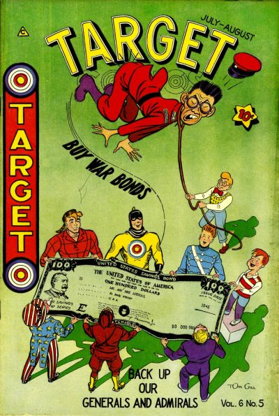 Cover for Target Comics (Novelty / Premium / Curtis, 1940 series) #v6#5 [61]
