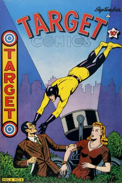 Cover for Target Comics (Novelty Press, 1940 series) #v6#6 [62]