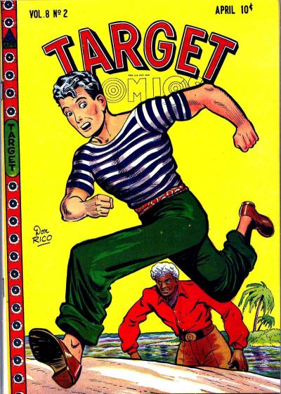 Cover for Target Comics (Novelty Press, 1940 series) #v8#2 [80]