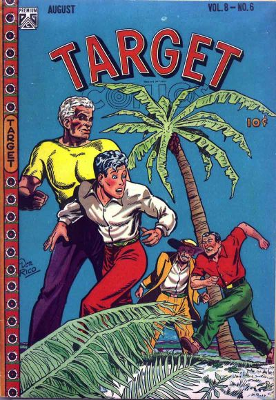 Cover for Target Comics (Novelty / Premium / Curtis, 1940 series) #v8#6 [84]