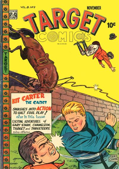 Cover for Target Comics (Novelty / Premium / Curtis, 1940 series) #v8#9 [87]