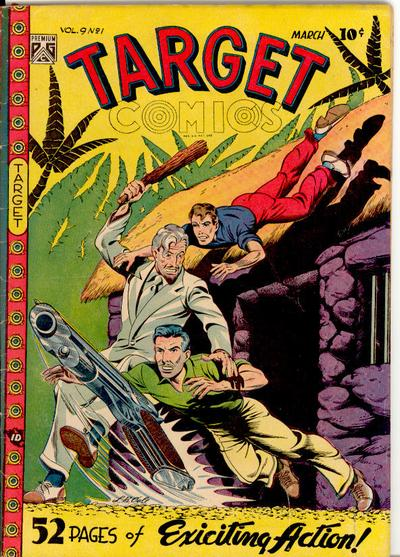 Cover for Target Comics (Novelty Press, 1940 series) #v9#1 [91]