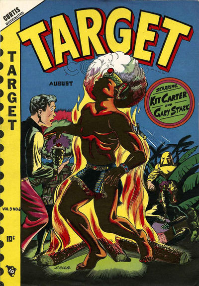 Cover for Target Comics (Novelty Press, 1940 series) #v9#6 [96]