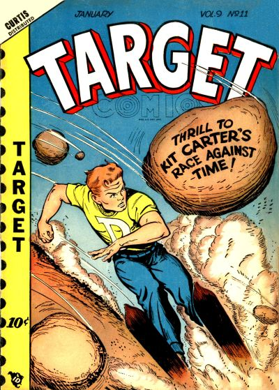 Cover for Target Comics (Novelty Press, 1940 series) #v9#11 [101]