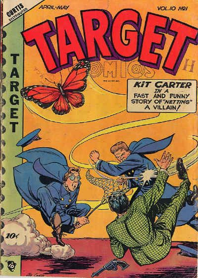 Cover for Target Comics (Novelty Press, 1940 series) #v10#1 [103]