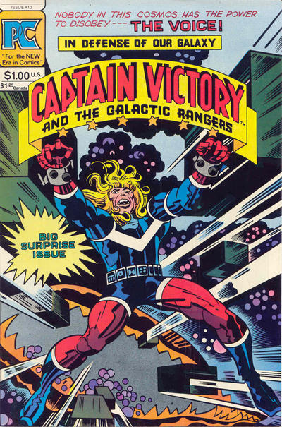 Cover for Captain Victory and the Galactic Rangers (1981 series) #10