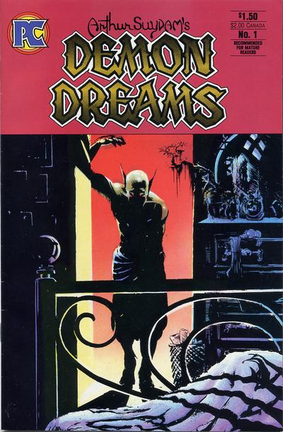 Cover for Demon Dreams (1984 series) #1