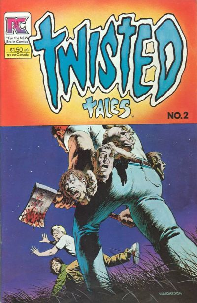 Cover for Twisted Tales (Pacific Comics, 1982 series) #2