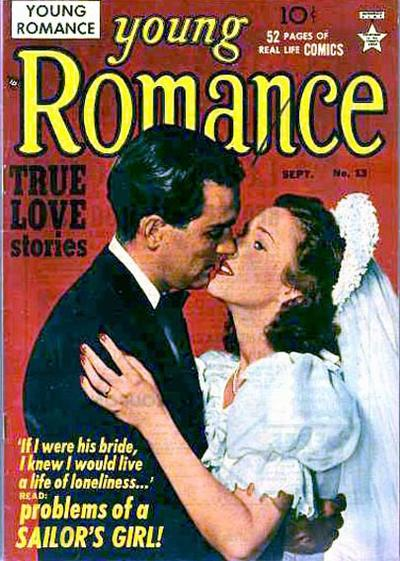Cover for Young Romance (Prize, 1947 series) #v3#1 (13)