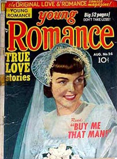 Cover for Young Romance (Prize, 1947 series) #v3#12 (24)