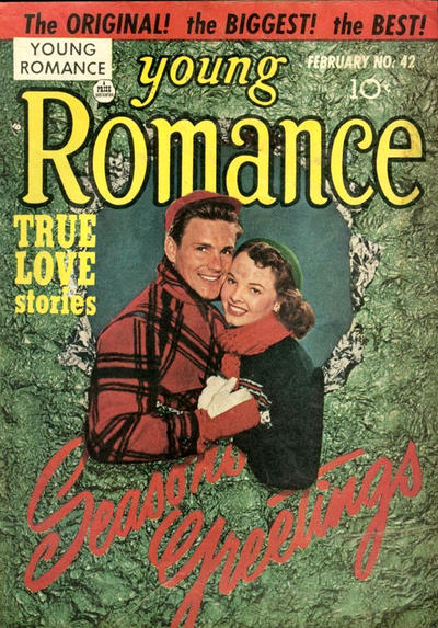 Cover for Young Romance (1947 series) #v5#6 (42)