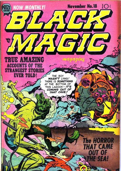 Cover for Black Magic (1950 series) #v2#12 (18)