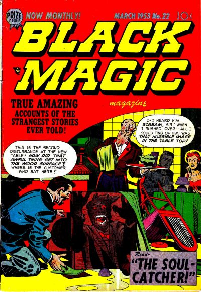 Cover for Black Magic (Prize, 1950 series) #v3#4 (22)