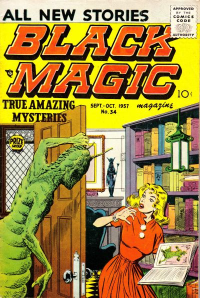 Cover for Black Magic (Prize, 1950 series) #v6#1 (34)