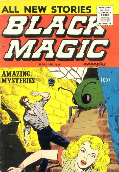Cover for Black Magic (Prize, 1950 series) #v6#4 [37]
