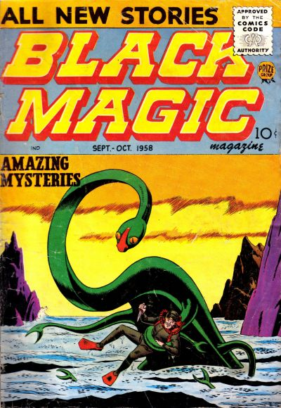 Cover for Black Magic (Prize, 1950 series) #v7#1 [40]