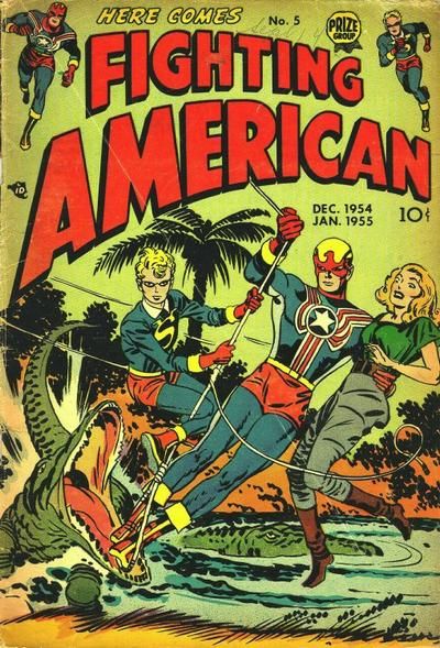 Cover for Fighting American (Prize, 1954 series) #v1#5 (5)