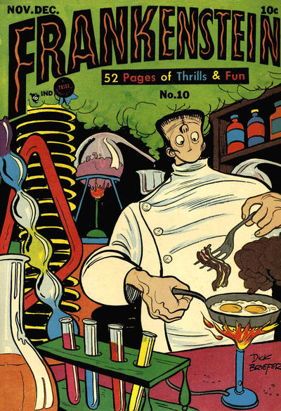 Cover for Frankenstein (Prize, 1945 series) #10