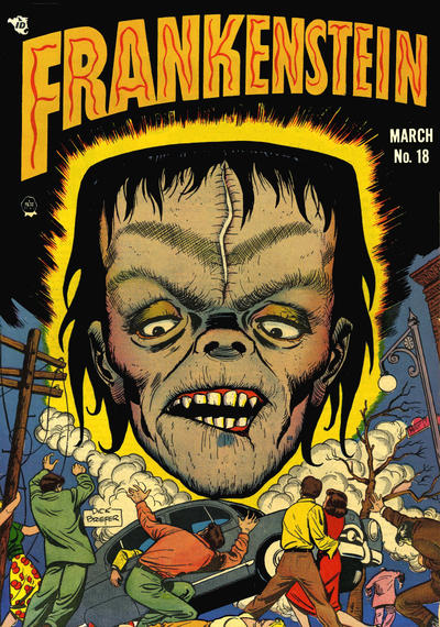Cover for Frankenstein (Prize, 1945 series) #v3#1 (18)