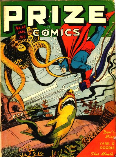 Cover for Prize Comics (Prize, 1940 series) #v2#6 (18)