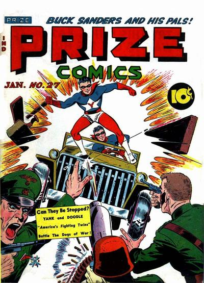 Cover for Prize Comics (1940 series) #v3#3 (27)