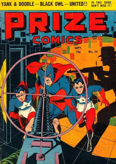 Cover for Prize Comics (1940 series) #v3#10 (34)