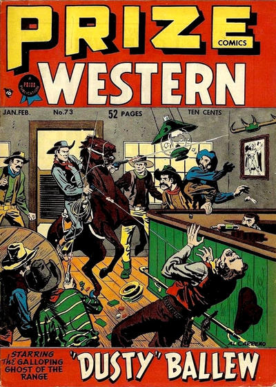 Cover for Prize Comics Western (Prize, 1948 series) #v7#6 (73)
