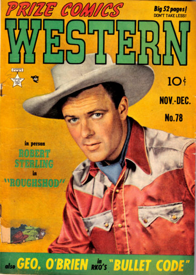 Cover for Prize Comics Western (Prize, 1948 series) #v8#5 (78)