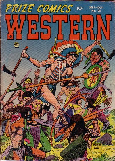 Cover for Prize Comics Western (Prize, 1948 series) #v11#4 (95)