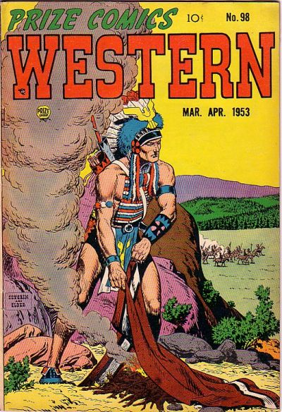 Cover for Prize Comics Western (Prize, 1948 series) #v12#1 (98)