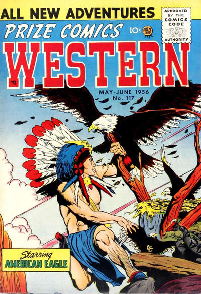Cover for Prize Comics Western (Prize, 1948 series) #v15#2 (117)