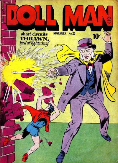 Cover for Doll Man (Quality Comics, 1941 series) #25