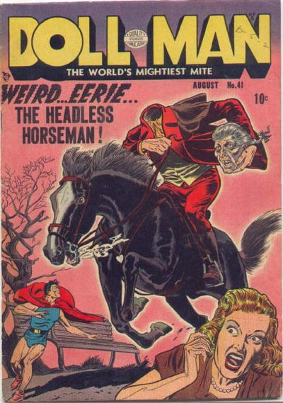 Cover for Doll Man (Quality Comics, 1941 series) #41