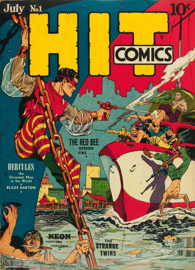 Cover for Hit Comics (1940 series) #1