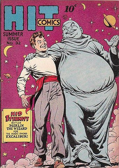 Cover for Hit Comics (Quality Comics, 1940 series) #32