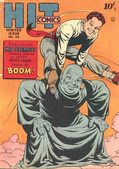 Cover for Hit Comics (1940 series) #34