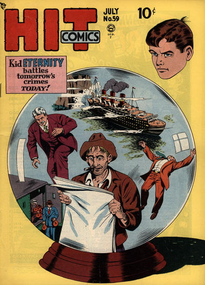 Cover for Hit Comics (Quality Comics, 1940 series) #59