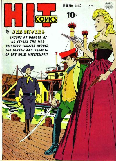 Cover for Hit Comics (1940 series) #62