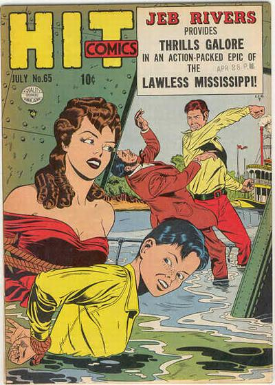 Cover for Hit Comics (1940 series) #65