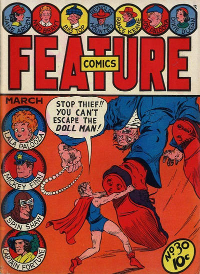 Cover for Feature Comics (Quality Comics, 1939 series) #30