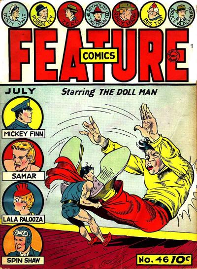Cover for Feature Comics (Quality Comics, 1939 series) #46