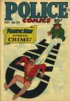 Cover for Police Comics (1941 series) #54